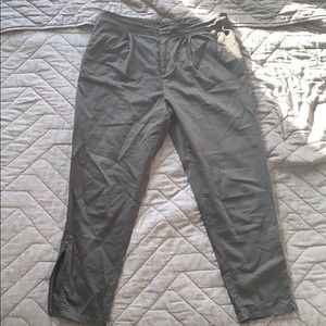 Kate Spade Saturday black peg pants